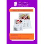 Calendar perete personalizat