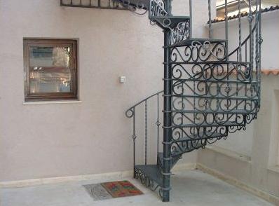 Balustrade interior fier forjat
