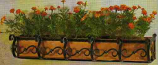 Jardiniere fier forjat