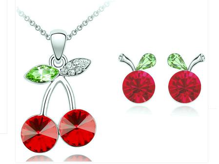 Set bijuterii cristale