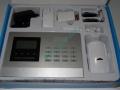 Alarma wireless cu LCD si apelator PD909