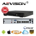 NVR 4 Canale POE AEVISION AE-N6100-4EP/48