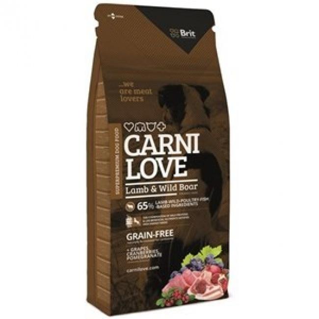 Lamb&Wild Boar 12kg - CARNILOVE