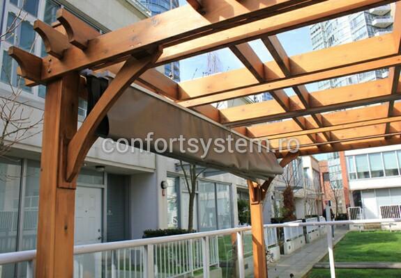 Pergola lemn stratificat