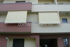 Copertine verticale balcon