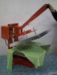 Prese transfer termic textile