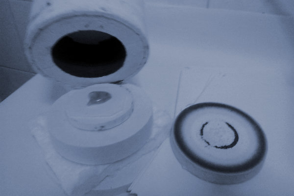 Microcuptor microfuziune sticla