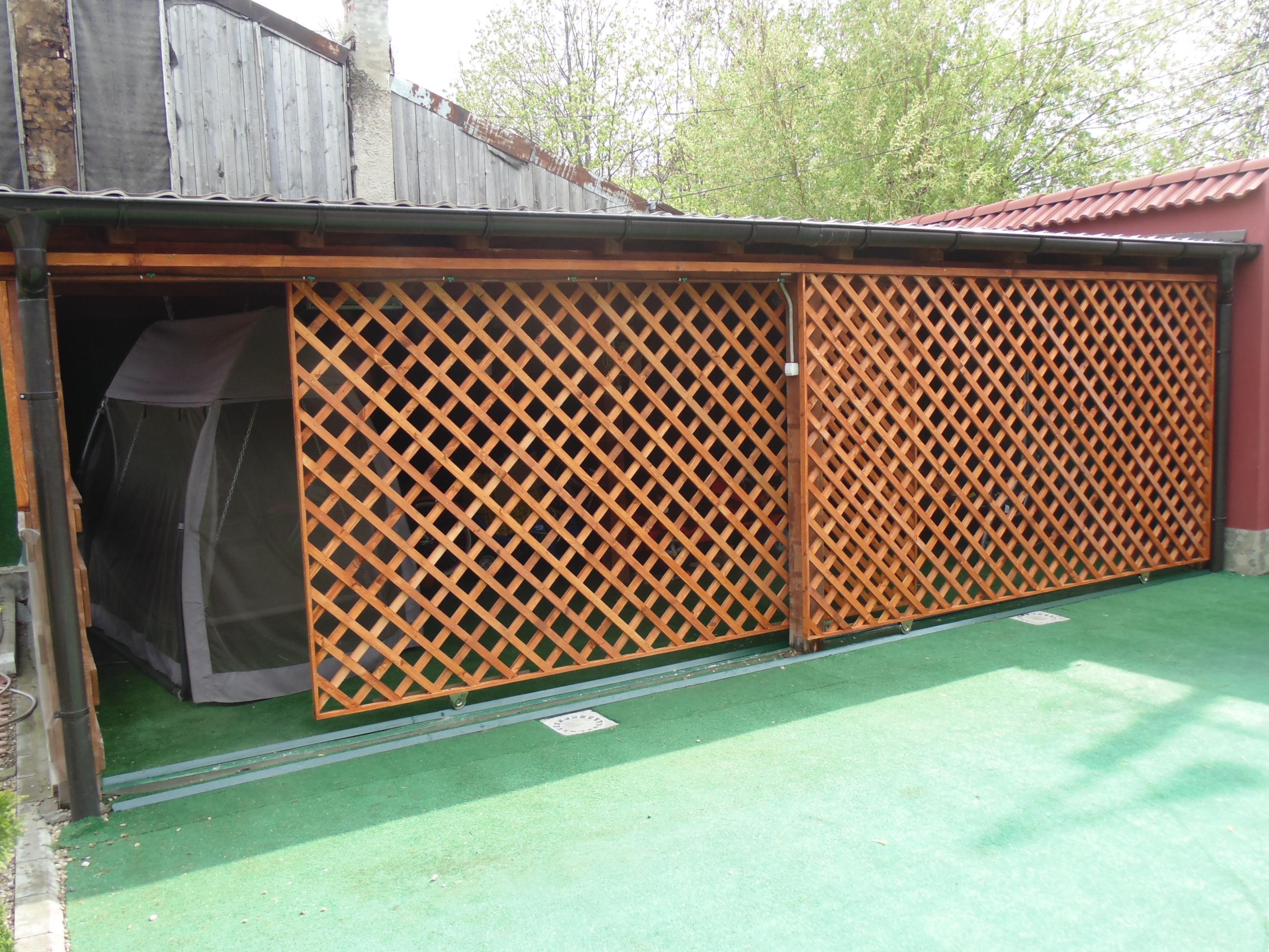Foisoare gradina lemn