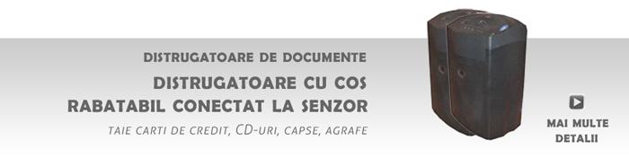 Distrugatoare de documente