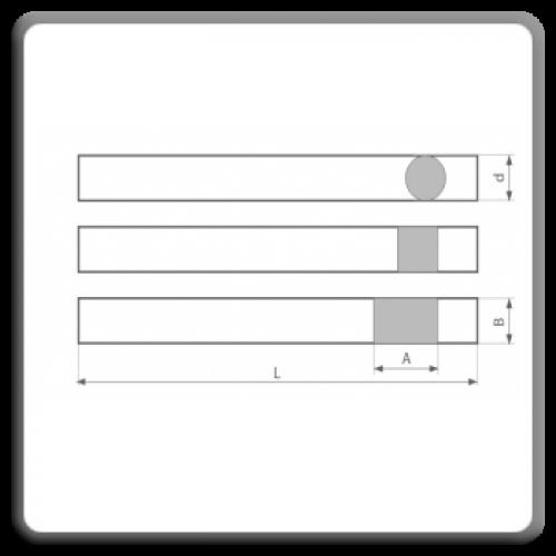 Semifabricate pentru cutite de strung din otel rapid DIN 4964