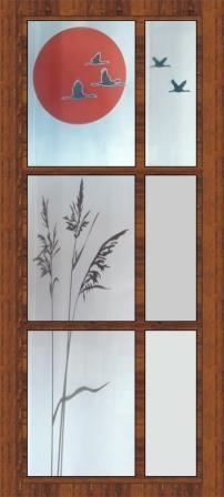 Geamuri decorative