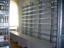 Rafturi metalice muzee