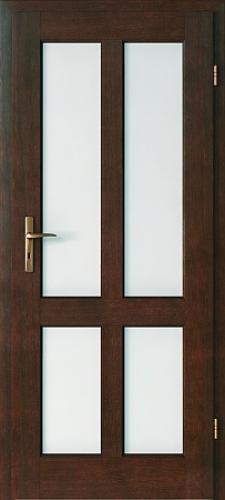 Usi interior lemn