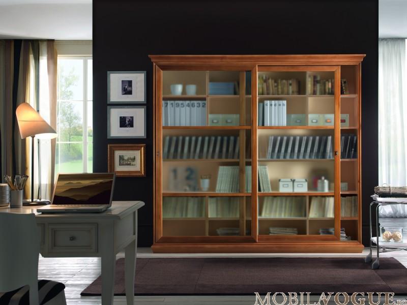 Biblioteca lemn