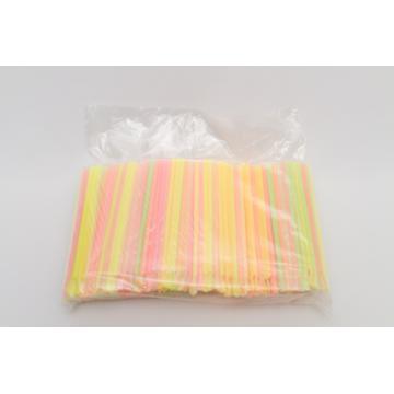 Paie multicolore cu lingurita, 1000 buc/pac