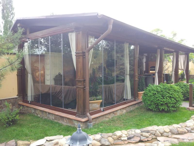Inchideri terase cu sticla
