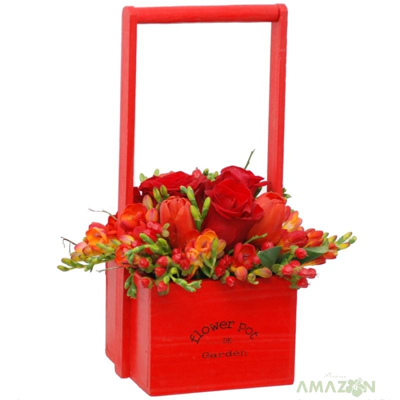 Aranjamente florale de primavara