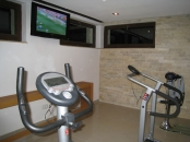 Sala fitness Pensiunea Stupina