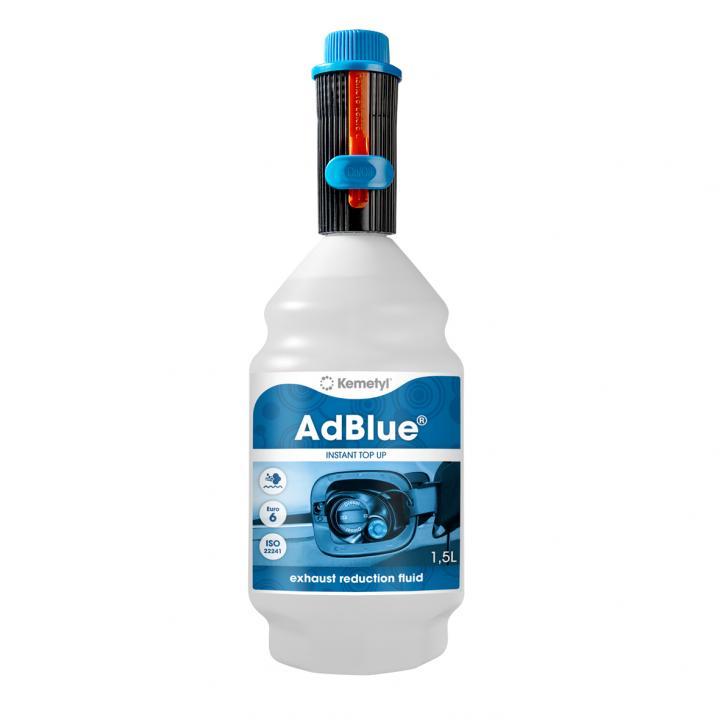 Aditiv AdBlue 1.5 litri, cu adaptor pentru umplere usoara