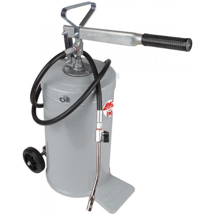 Pompa de gresare manuala cu rezervor de 16 kg