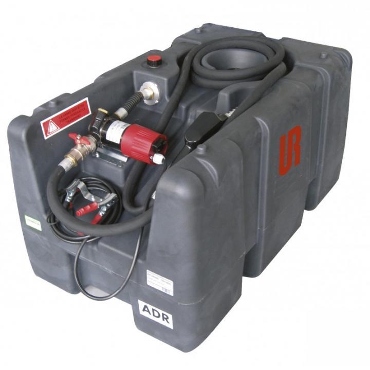 Bazin mobil 200 L pentru motorina cu pompa de alimentare 12V