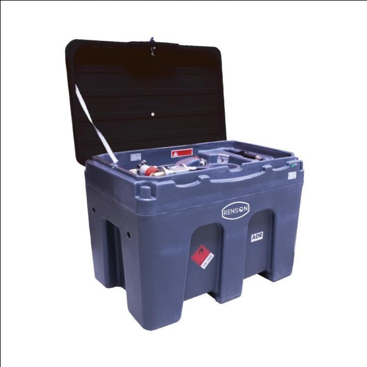 Bazin mobil 450 litri motorina cu pompa de alimentare 12V