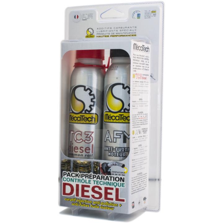 Kit aditiv Diesel, aditiv ulei - TC3 Diesel + AFM