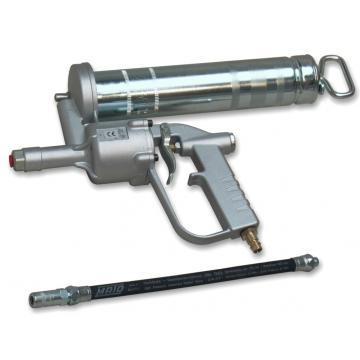 Pistol gresare pneumatic DFO 501 cu furtun de cauciuc 300mm