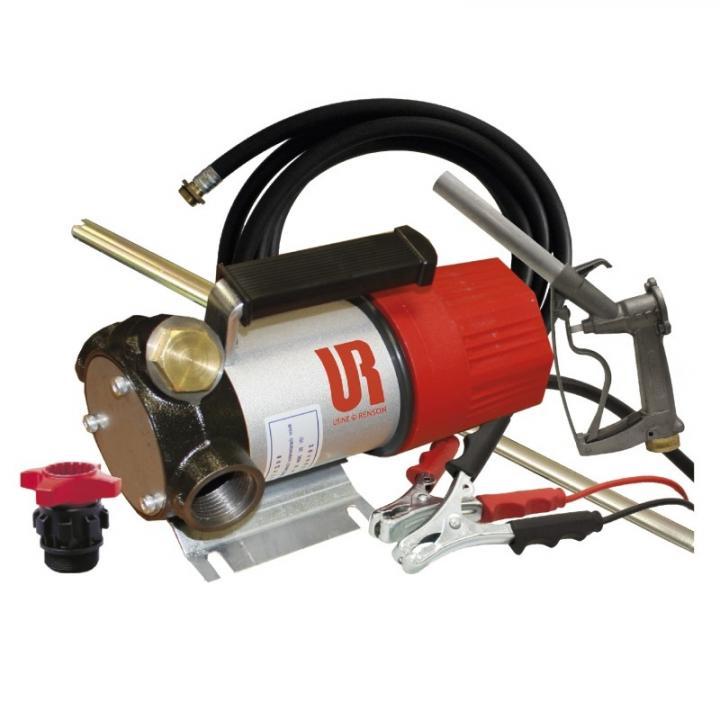 Pompa de transfer motorina la 12 V de montat pe butoi