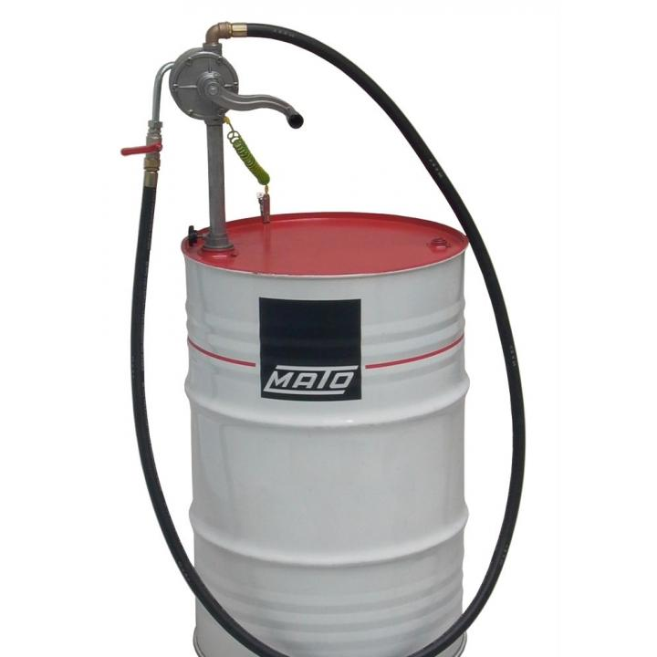 Pompa manuala rotativa pentru transfer lichide explozive