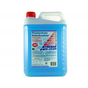 Solutie parbriz diluata Alpine Windscreen Cleaner -30C, 5L