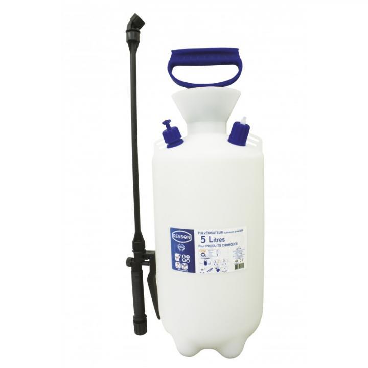 Sprayer manual de presiune pentru produse chimice, 5 L