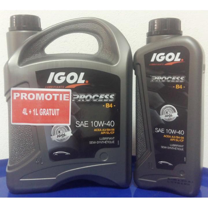 Ulei motor Igol Process B4 10W-40, 4L+1L