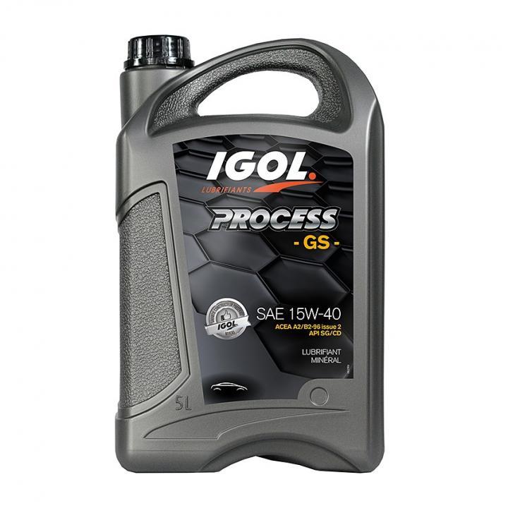 Ulei motor Igol Process GS 15W-40, 5L