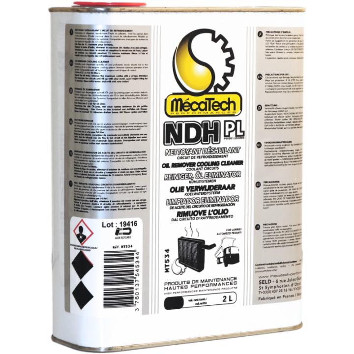 Solutie de eliminat uleiul din sistemul de racire - NDH (2L)