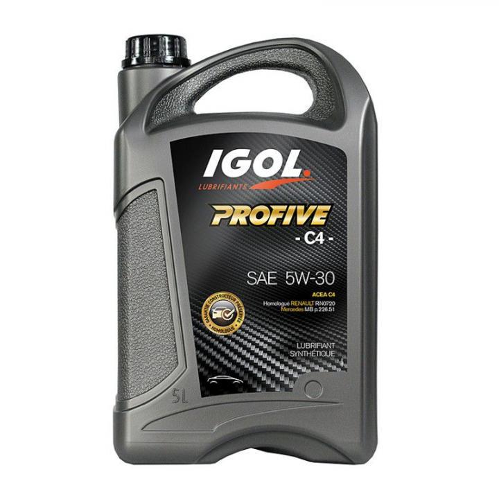 Ulei motor sintetic Igol Profive C4 5W30, Renault/Nisan,5 L