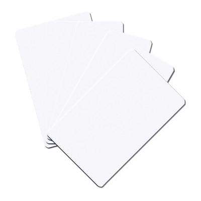 Card alb PVC
