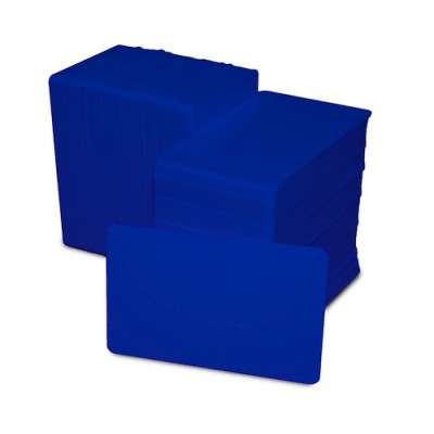 Card PVC albastru inchis