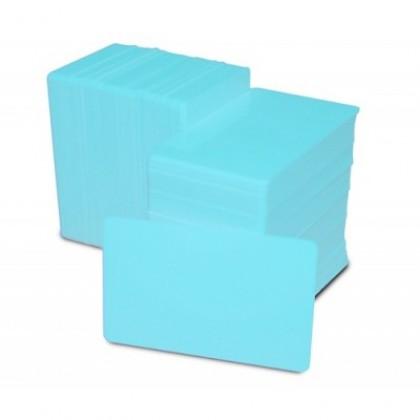 Card PVC albastru deschis