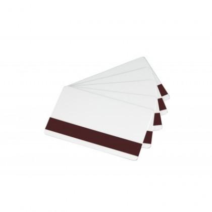 Card alb PVC cu banda magnetica HiCo