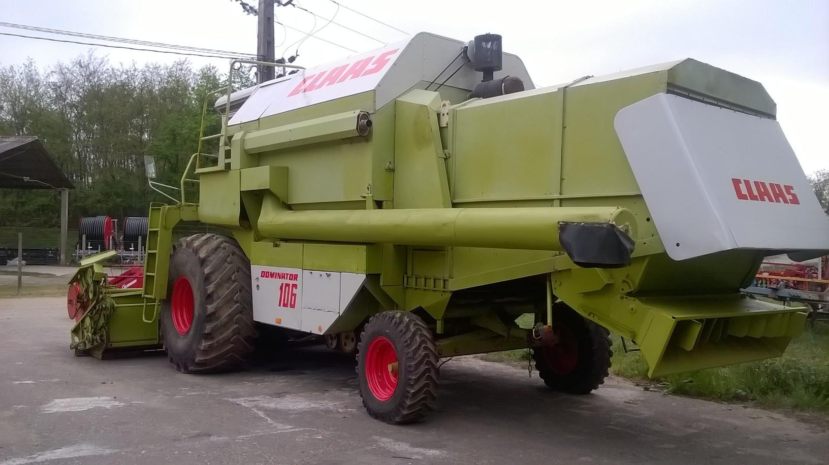 Claas Dominator 106--combină agricolă second hand