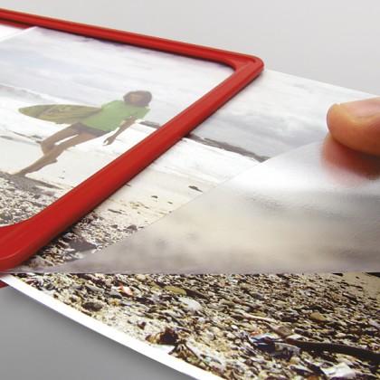 Folie protectie antireflectiva tip U cu grosime de 0.3 mm