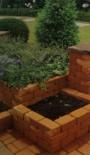 Jardiniere beton