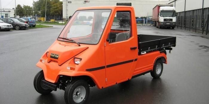 Vehicule comerciale electrice
