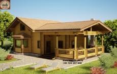 Case lemn la cheie
