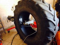 Reparatii anvelope industriale