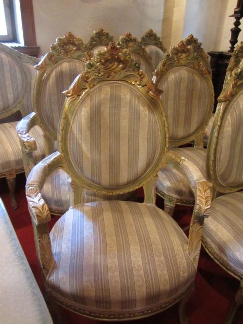 Salon Rococo-tapiterie dungi