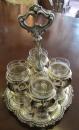 Set ceai Baroc cu pahare din cristal de Bacara