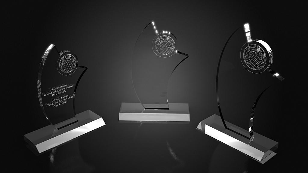 Trofee personalizate
