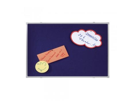Tabladin fetru Franken, albastru, 90 x 60 cm